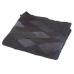 Чёрный ковёр из мутона