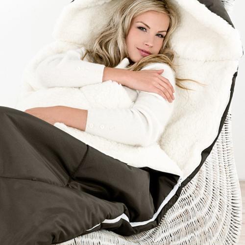 Спальный мешок из шерсти