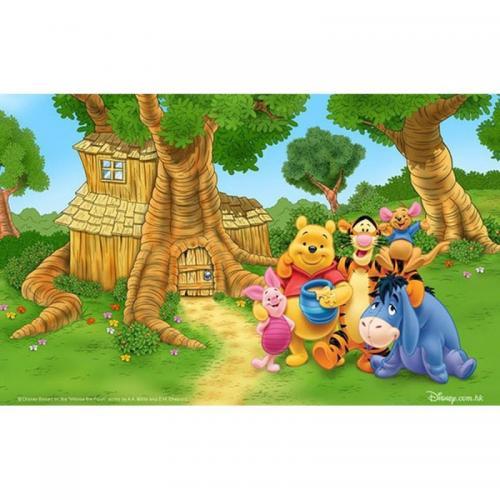 Коврик для ванной Megan Winnie The Pooh полиэстер 100x140