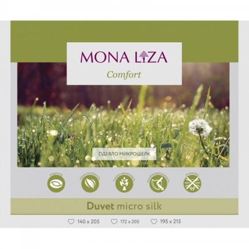 Одеяло Mona Liza Микрошелк 172х205см летнее 100 г/м2