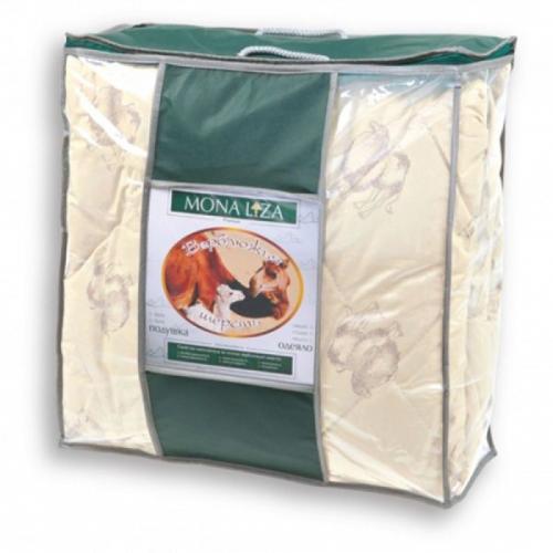 Одеяло Mona Liza Верблюжья шерсть 195х210см всесезонное 200 г/м2