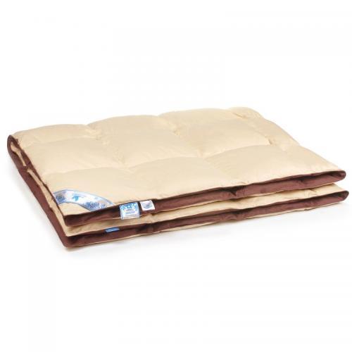 Одеяло пуховое кассетного типа Belashoff Диалог 140x205см зимнее