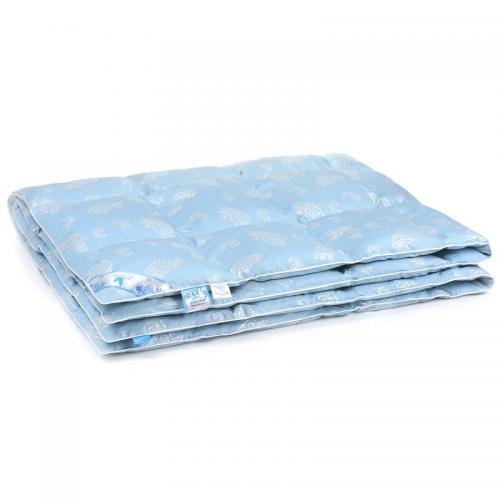 Одеяло пуховое кассетного типа Belashoff Классика 140x205см зимнее