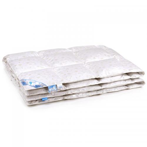 Одеяло пуховое кассетного типа Belashoff Комфорт 140x205см зимнее