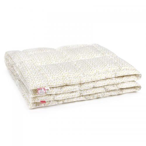 Одеяло стеганное Belashoff Лебяжий пух 140x205см всесезонное