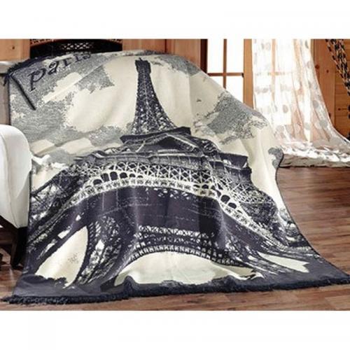 Плед Arya Eiffel хлопок 180x220