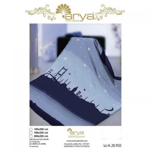 Плед Arya Istanbul хлопок 150x220