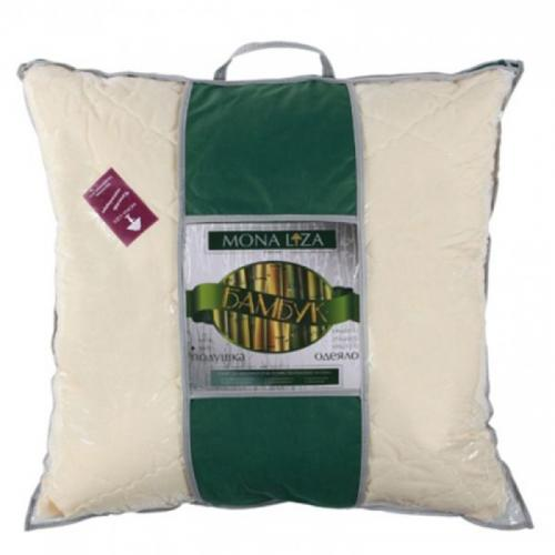 Подушка Mona Liza Бамбук 70х70см упругая