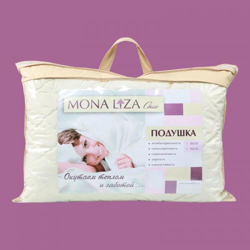Подушка Mona Liza Микрошелк 70х70см средней жесткости