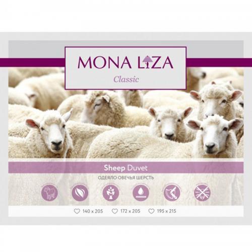 Подушка Mona Liza Овечья шерсть 70х70см средней жесткости