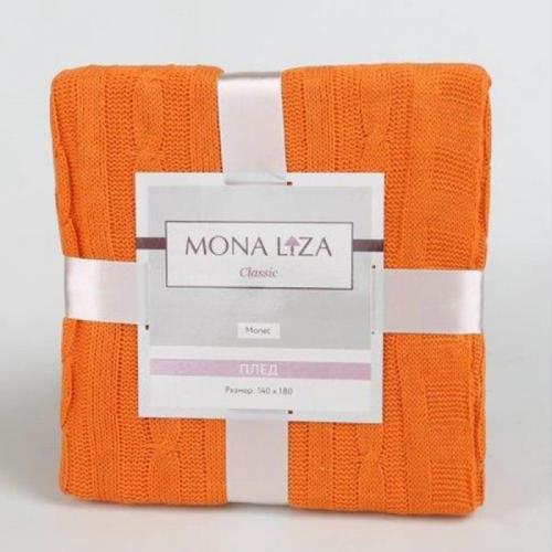 Вязаный плед Mona Liza Оранж 140х180см Акрил