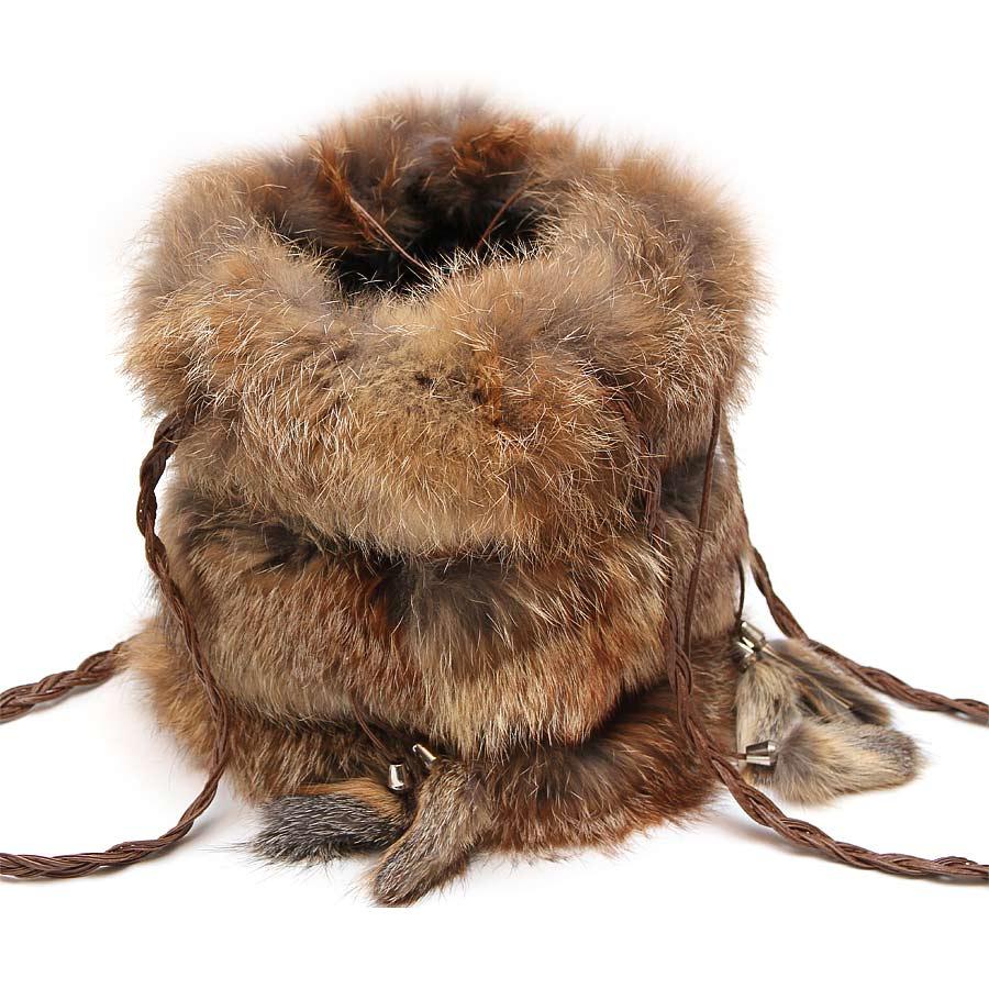 Женская сумка из меха А1001