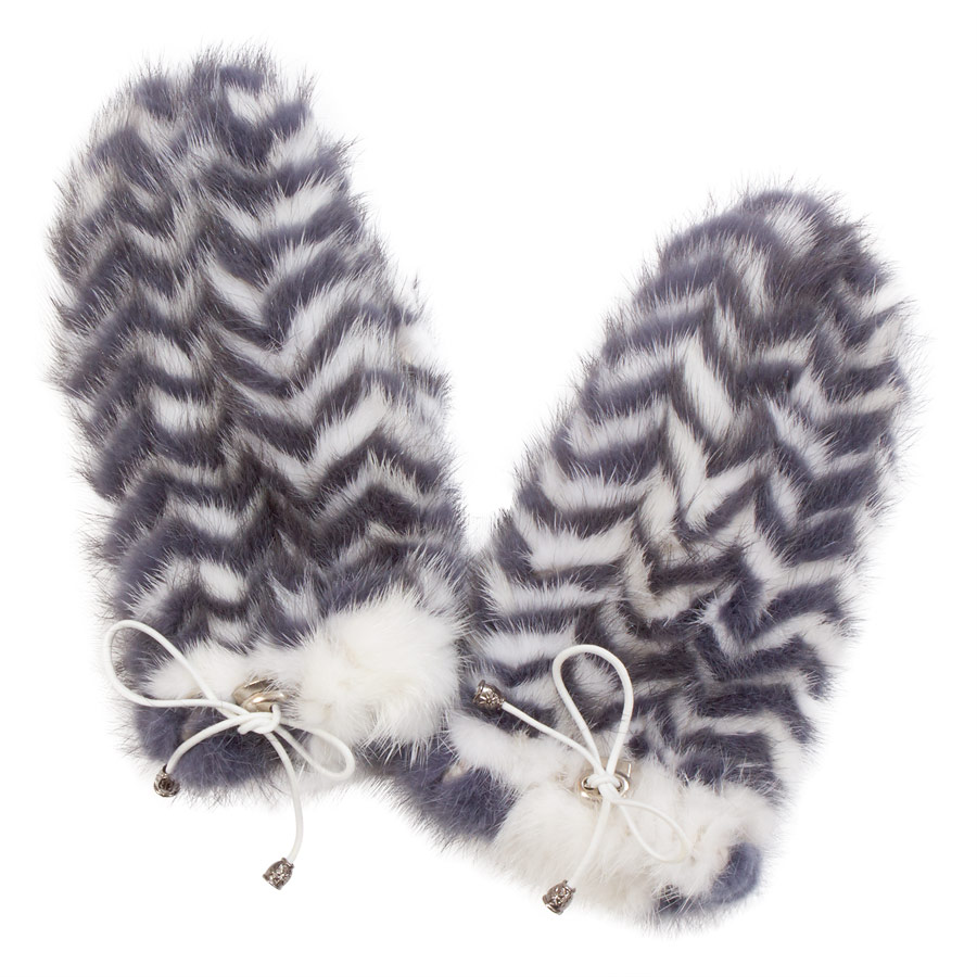 Варежки из норки А4151