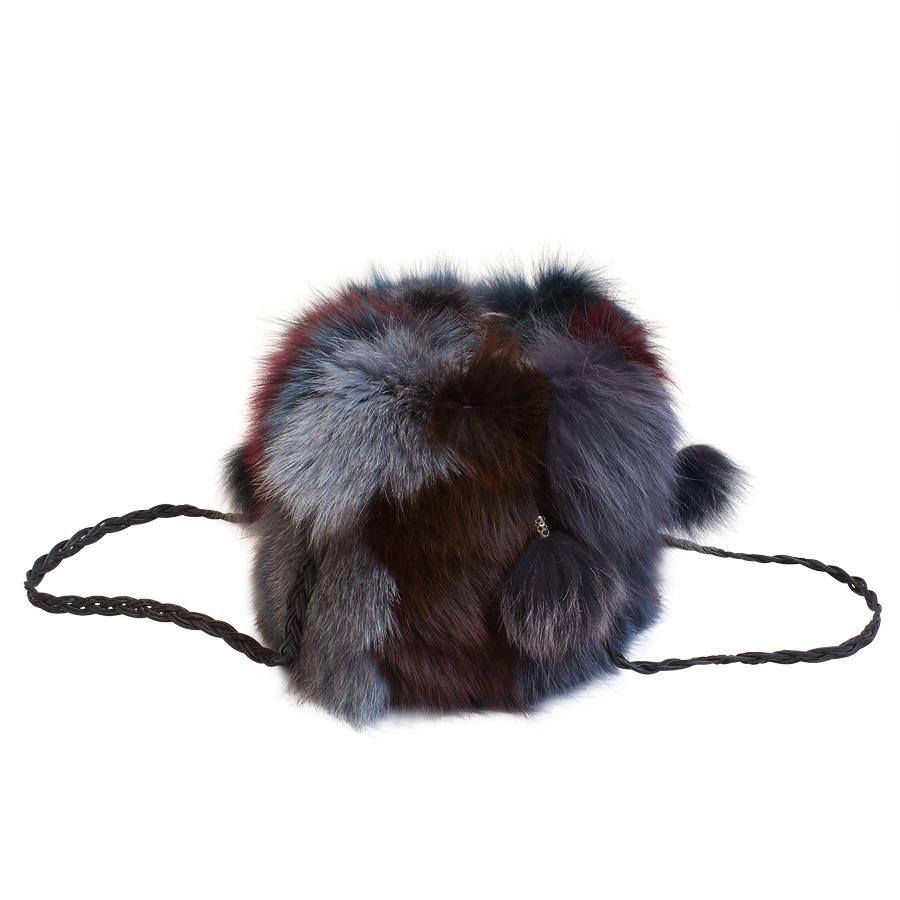 Женская сумка из меха А1015
