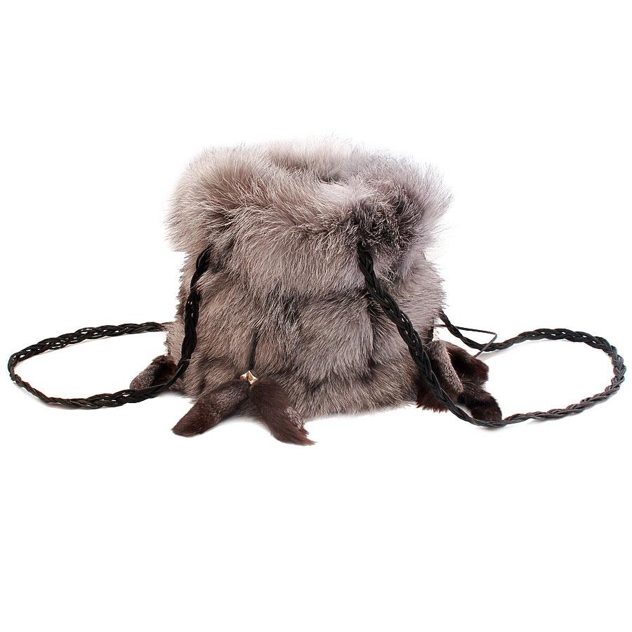 Женская сумка из меха А1002