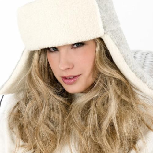 Сибирская шапка SIBERIAN WOOL, серый дым