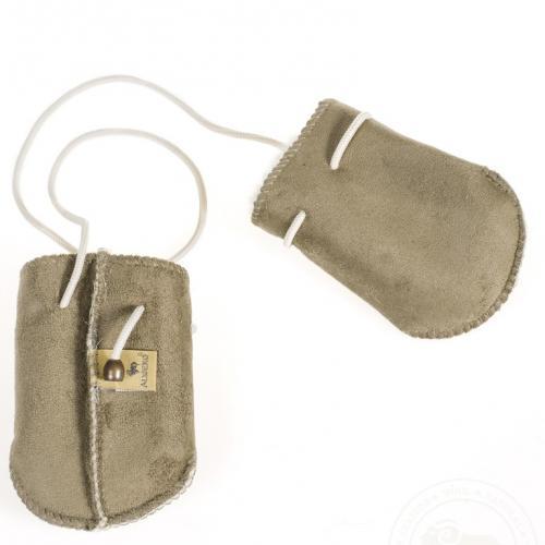 Рукавички велюровые для малышей
