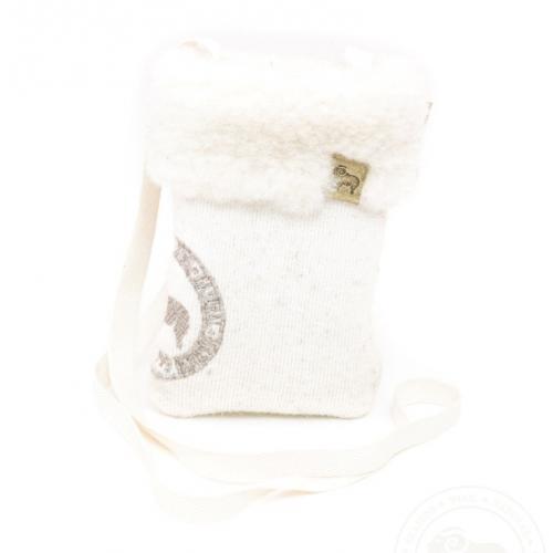 Эластичный чехол MOBY из овечьей шерсти для телефона