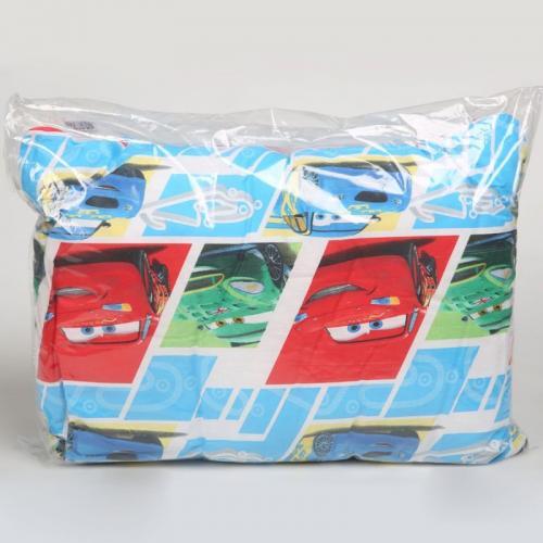 Детская подушка Disney Тачки 2 50х70см средней жесткости