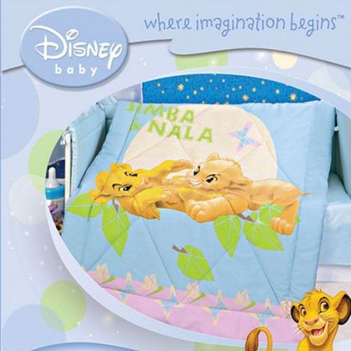 Детское одеяло Disney Baby Король Лев 105х140см летнее 100 г/м2