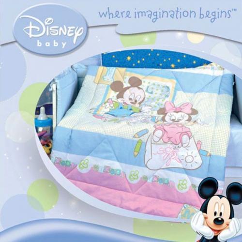Детское одеяло Disney Baby Микки 105х140см летнее 100 г/м2