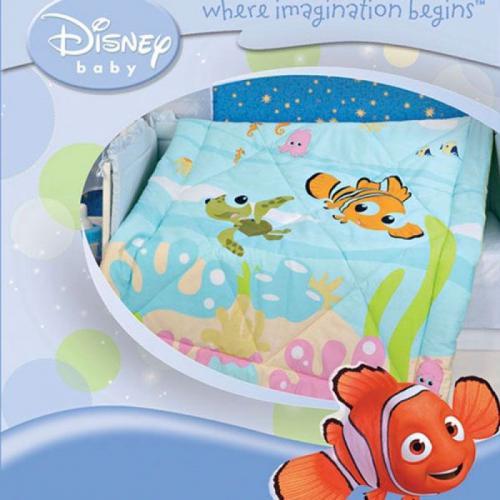 Детское одеяло Disney Baby Немо 105х140см летнее 100 г/м2