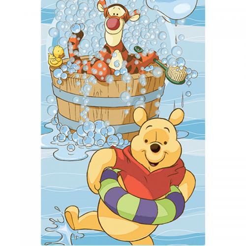 Детское полотенце Disney Винни и тигра 2013 70х140см для тела (душа)