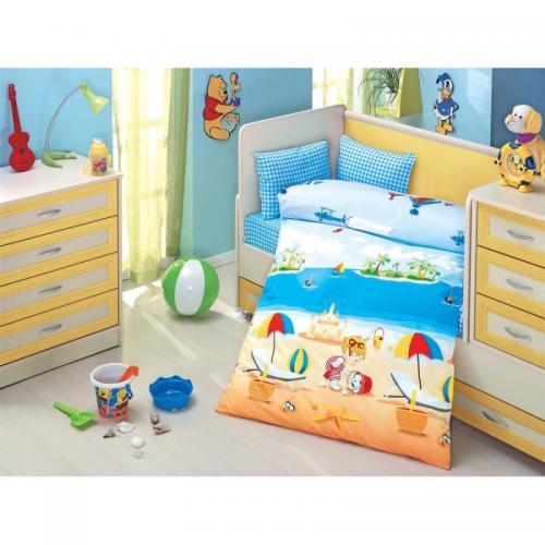 Детское постельное белье Altinbasak Deniz ранфорс нав(1)35x45