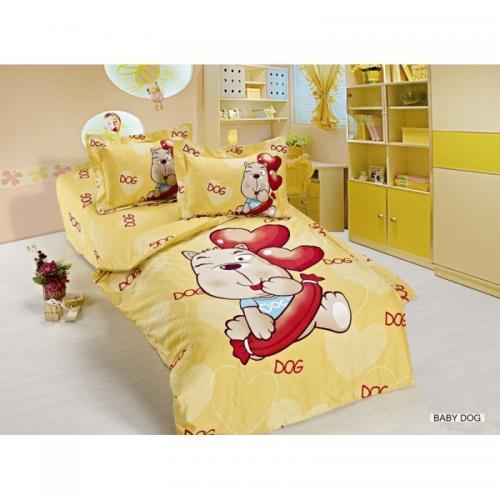 Детское постельное белье Arya Baby Dog сатин нав(2)35x45