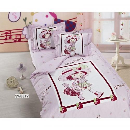 Детское постельное белье Arya Sweety сатин нав(2)35x45