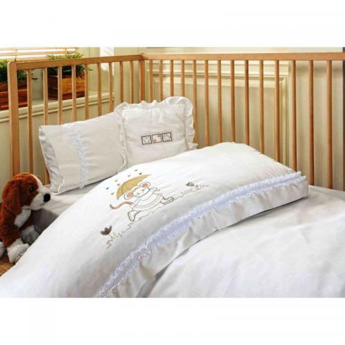Детское постельное белье Ecocotton Mouse сатин нав(2)