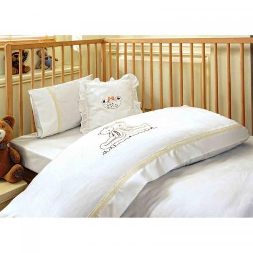 Детское постельное белье Ecocotton Pink Bera сатин нав(2)