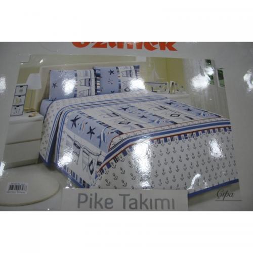 Комплект простыня с наволочкой Ozdilek Cipa ранфорс 220x240
