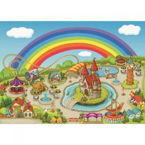 Коврик для ванной Megan Luna Park полиэстер 100x140