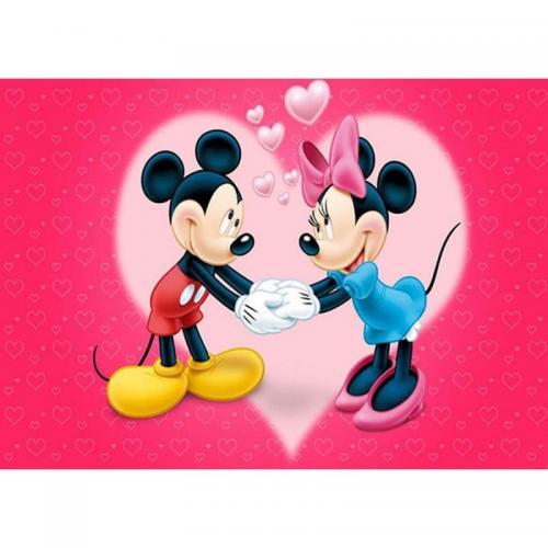 Коврик для ванной Megan Mickey Mouse полиэстер 100x140