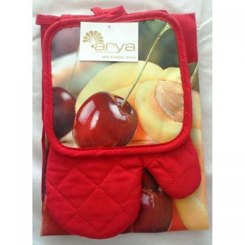 Кухонный набор Arya Cherry нейлон 3 предм.