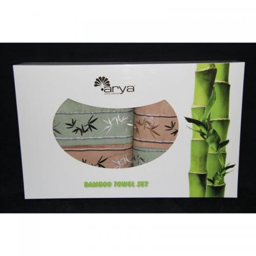 Набор бамбуковых полотенец Arya Бамбук бамбук 50x90 и 70x140