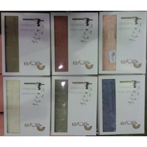 Набор бамбуковых полотенец Arya Naturel Bamboo бамбук 50x90 и 70x140