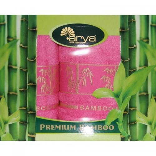 Набор бамбуковых полотенец Arya Premium Bamboo бамбук 50x90 и 70x140