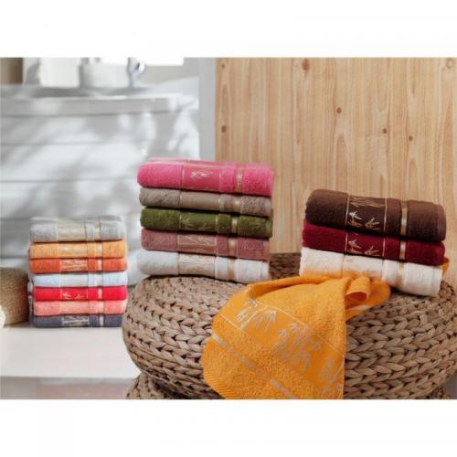 Набор бамбуковых полотенец Fakili Fakili бамбук 70x140 з шт.