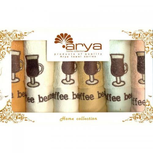 Набор салфеток Arya Beans хлопок 30x50 6 шт.
