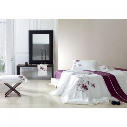 Постельное белье КПБ Famille ES-03 сатин с вышивкой 1.5-спальный нав(2)50х70