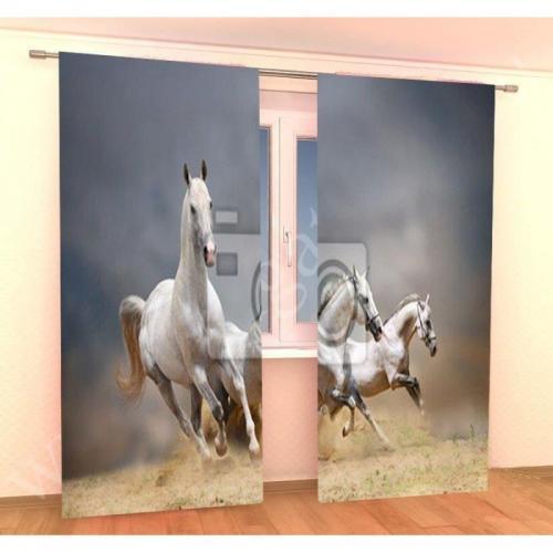 Шторы Arya Horse полиэстер 145x275 2 шт.