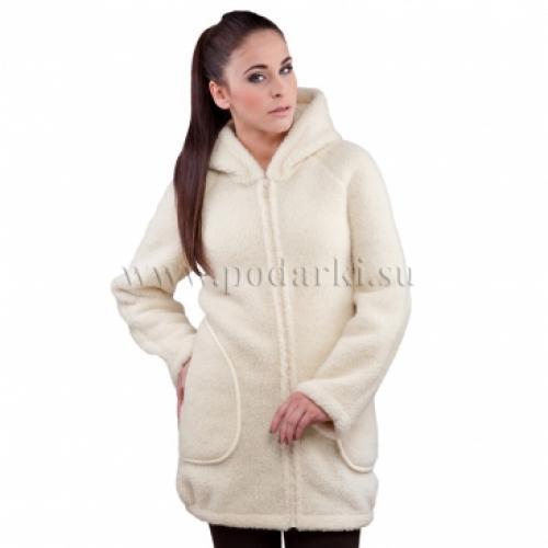 """Пальто женское """"Доти"""", белый"""